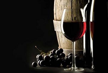 CASO WineMaster 24 Design Weinkühlschrank für bis zu 24 Flaschen (bis zu 310 mm Höhe), zwei Temperaturzonen 5-22°C, Energieklasse A -