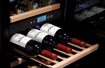 Caso WineMaster 38 Weinkühlschrank Test Ablage