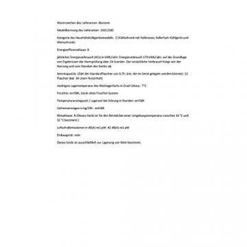 Klarstein Reserva 12 - Der Weinkühlschrank im Test