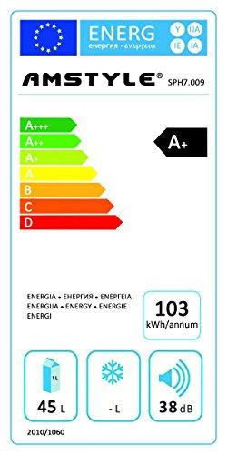 Amstyle SlimLine Weinkühlschrank Test Energieklasse