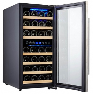 Kalamera KRC-33BSS Design Weinkühlschrank Test