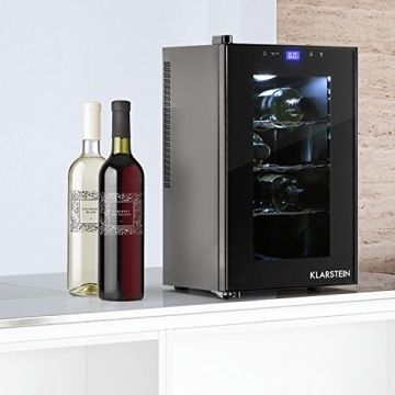 Klarstein Reserva Picola Weinkühlschrank 25 Liter 8 Flaschen -